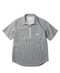 Joy Zip Pullover Shirt Stripe