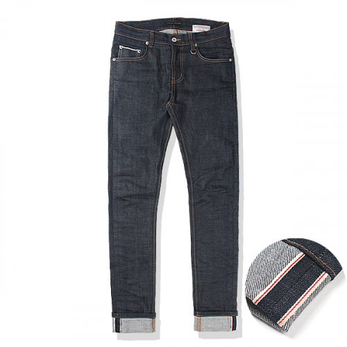 L 사이즈 당일발송nonwash span selvedge denim*japan*
