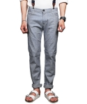 크래프티드(KRAFTED) Gray Relaxed Straight Leg Jeans