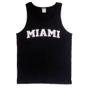 3930R HEAVY COTTON TANK MIAMI(BLACK)