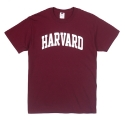 3930R HEAVY COTTON T-SHIRT HARVARD(MAROON)
