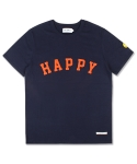 마치위드(MARCHWITH) HAPPY HEAVYWEIGHT TEE NAVY