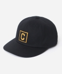 커버낫 15 S/S BOX C LOGO B.B CAP BLACK