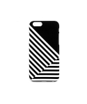 Cross stripe Black IPhone 6