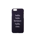 하이드앤시크(HIDE&CHIC) Greeting Navy IPhone 6