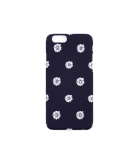 White flower Navy IPhone 6