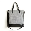 옐로우스톤(YELLOWSTONE) LEATHER COMBI CROSS BAG - YS2024GR /GRAY