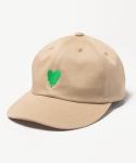 인사일런스 MELTING HEART 6P CAP (BEIGE)