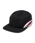 리타 Shark tooth camp cap black