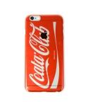 리타 Cellphone cover Coca-Cola logo parody clear (iPhone 6 Plus) red