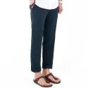 M#0420 linen summer pants (navy)