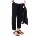 모디파이드 M#0421 linen summer pants (black)