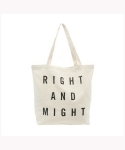 위고(WEGO) RIGHT AND MIGHT TOTE BAG
