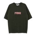 앤더슨벨 (UNISEX) Flocking Raglan T-shirt Green atb037