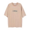앤더슨벨 (UNISEX) Flocking Raglan T-shirt Camel atb037