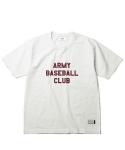 에스피오나지 ABC Ringspun S/S Heavyweight T-Shirt Off White