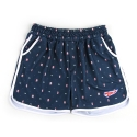 언티지 UTP 89 pixel teddy track shorts_navy