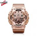 지샥 GA-100GD-9A [국내발송] 카시오 지샥 빅페이스 시계 올골드 군인시계 입학 졸업선물