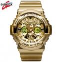 지샥 GA-200GD-9A [국내발송] 지샥 빅페이스 골드 시계 로즈골드 시계 군인시계 입학 졸업선물