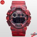 지샥 카시오 지샥 빅페이스 시계 GD-120CM-4 카모플라쥬 G-SHOCK