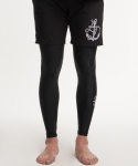 디미토(DIMITO) MENS BLACKOUT DEEP SEA LEGGINGS BLK