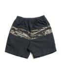 """제로 Camo Block Beach Shorts """"Tigercamo"""""""