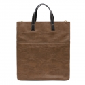 루버킨 Benet Tote & Cross Bag (Light Brown)