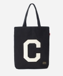 커버낫(COVERNAT) 15 S/S C LOGO ECO BAG BLACK