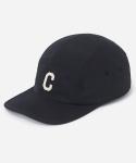 커버낫 15 S/S C LOGO CAMP CAP BLACK