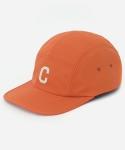 커버낫 15 S/S C LOGO CAMP CAP ORANGE