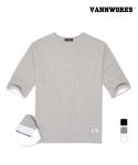 VANN WORKS 밴웍스 롤업 슬리브 티셔츠(V15TS038)