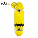 엔조이(ENJOI) [ENJOI] 32.5 BIG PANDA SMALL WHEELS YELLOW FLIP CRUISER COMPLETE