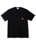 에스피오나지 Work Pocket Tubular T-Shirt Black