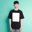 [믹스테잎] INCOMPLETE BOY TEE (black)