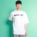 [믹스테잎] VERTEX TEE (white)