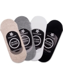 삭스더랭귀지(SOCKS THE LANGUAGE) muji-fakesocks-4set