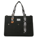 스티디(STIDIE) hound carry on paisley-charcoal