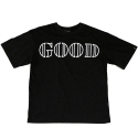 로맨틱크라운(ROMANTIC CROWN) [ROMANTICCROWN]GOOD LIFE WIDE T-SHIRT_BLACK