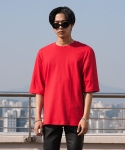 플레임 플라워(FLAME FLOWER) SQUARE TSHIRT(RED)