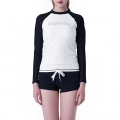배럴(BARREL) Eve Rashguard White-Black