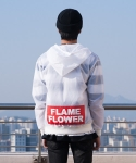 플레임 플라워(FLAME FLOWER) WIND BREAKER JUMPER (WHITE)