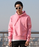 플레임 플라워(FLAME FLOWER) [SIZE48 SOLD OUT]PULL OVER HOODIE(PINK)