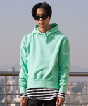 플레임 플라워(FLAME FLOWER) PULL OVER HOODIE(MINT)