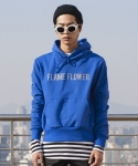 플레임 플라워(FLAME FLOWER) PULL OVER HOODIE(BLUE)