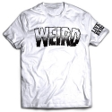 CREEP STREET WEIRD TEE WHT