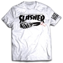 CREEP STREET SLASHER TEE WHT
