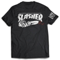 CREEP STREET SLASHER TEE BLK