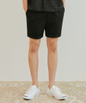 베리베인() BT23 HALF BANDING SLACKS (BLACK)