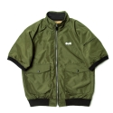Short sleeve windbreaker(KHAKI)