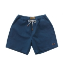 램배스트(LAMBAST) COTTON SPAN SHORT PANTS(blue-green denim)